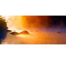 9-11-11 Lake Ozonia Sunrise Photographic Print