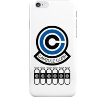 Capsule Corp v7 iPhone Case/Skin