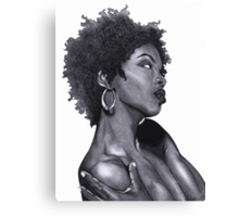 Lauryn - The Beauty Collection Canvas Print