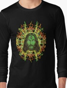 Psychedelic Jesus Long Sleeve T-Shirt