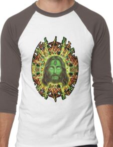 Psychedelic Jesus Men's Baseball ¾ T-Shirt