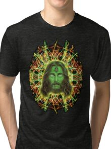Psychedelic Jesus Tri-blend T-Shirt