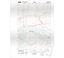 USGS Topo Map Washington Paterson 20110903 TM Poster