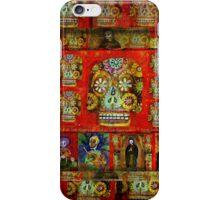 day of the dead - La Cara Es El Espejo Del Alma iPhone Case/Skin