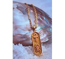 Egyptian Gold and Mother of Pearl Photographic Print