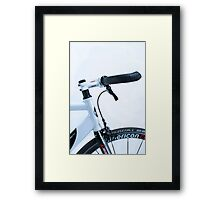 Omnium track bike in fixie street mode Framed Print