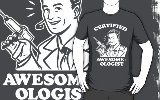 Certified Awesome-ologist by ninjaink