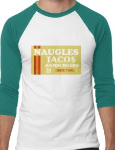 Naugles Tacos Retro T-Shirt Men's Baseball ¾ T-Shirt