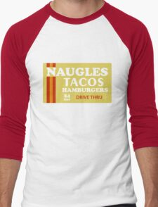Naugles Tacos Retro T-Shirt Men's Baseball ¾ T-Shirt