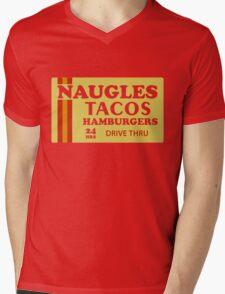 Naugles Tacos Retro T-Shirt Mens V-Neck T-Shirt