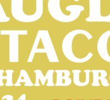 Naugles Tacos Retro T-Shirt Sticker