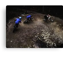 Forest of Dean MTB Canvas Print