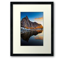 Prusik Reflection Framed Print