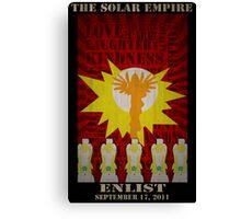My Little Pony Solar Empire  Canvas Print