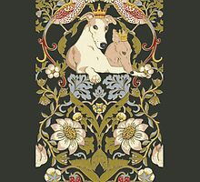 Whippet Border by Ivy Izzard