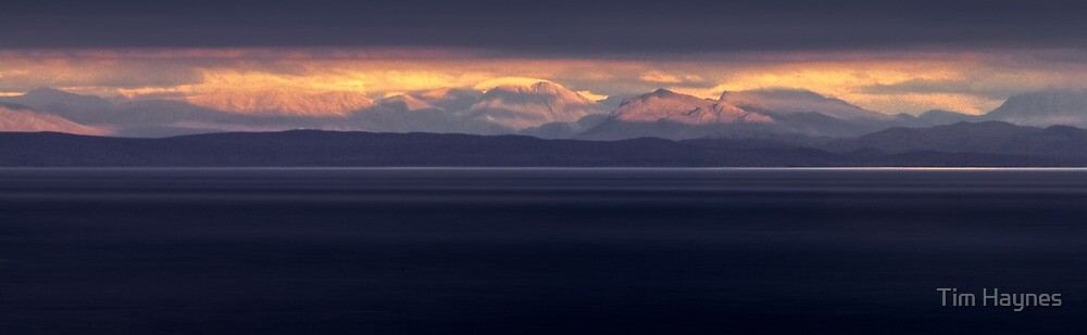 Distant Mountains by Tim Haynes