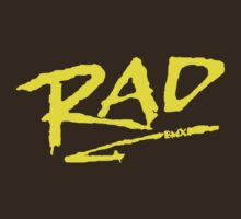 Rad BMX 80's T-Shirt by defunkt