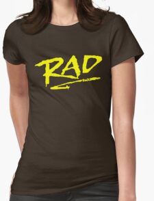 Rad BMX 80's T-Shirt Womens Fitted T-Shirt