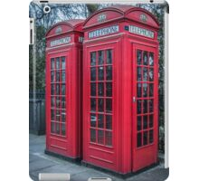 Classic London Telephone Booths iPad Case/Skin