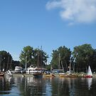 Buffalo Maritime Center's Small Craft Festival at Point Abino, Ontario by Ray Vaughan