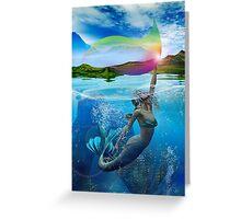 RAINBOW WAVE Greeting Card