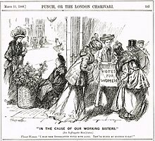 Suffragette Sisters Punch cartoon 1908 by artfromthepast