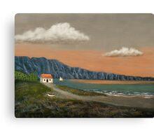 Seaside Cottage Canvas Print