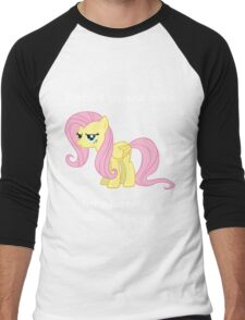 Haters gonna hate, Fluttershy doesn't care Men's Baseball ¾ T-Shirt