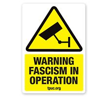 warning facism in operation by theonewhoisfree
