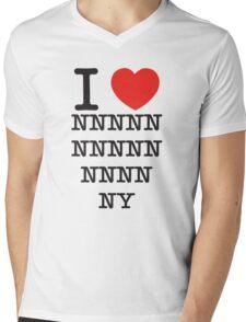 New x 15 York Mens V-Neck T-Shirt