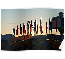 Flags of the CNE Poster