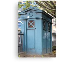 Old Fasioned Police Box Canvas Print