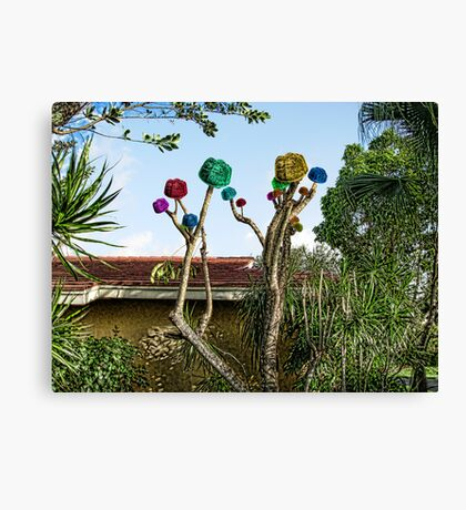 Ju Ju Fruit Tree Canvas Print