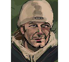 David Beckham Photographic Print