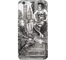 Votes for Women Punch cartoon 1908 iPhone Case/Skin