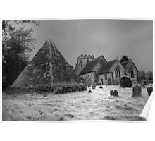 St Thomas Becket and the Pyramid Poster