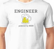 Engineer (powered by beer) Unisex T-Shirt