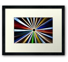 Colorful Eclipse 1 Framed Print