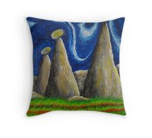 That Which Flows Inside Itself Throw Pillow
