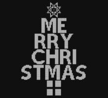 Merry Christmas sweater Kids Tee