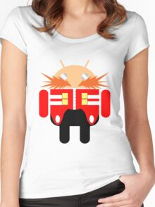 Dr. Droidbotnik Women's Fitted Scoop T-Shirt