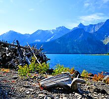 Upper Kananaskis Lake Alberta, Canada Sept 11, 2011 by Laurast