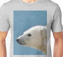 White Polar Bear Unisex T-Shirt