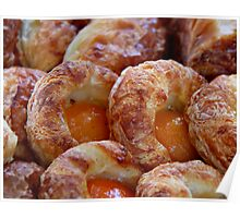Apricot Pastry Poster