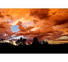 Prescott Arizona Sunset Photographic Print