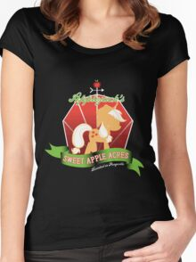Applejack's Sweet Apple Acres Women's Fitted Scoop T-Shirt