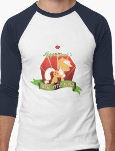 Applejack's Sweet Apple Acres Men's Baseball ¾ T-Shirt