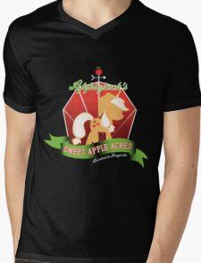 Applejack's Sweet Apple Acres Mens V-Neck T-Shirt