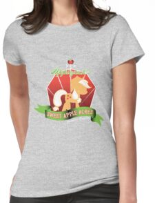 Applejack's Sweet Apple Acres Womens Fitted T-Shirt