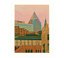 Decades Of Architecture Art Print